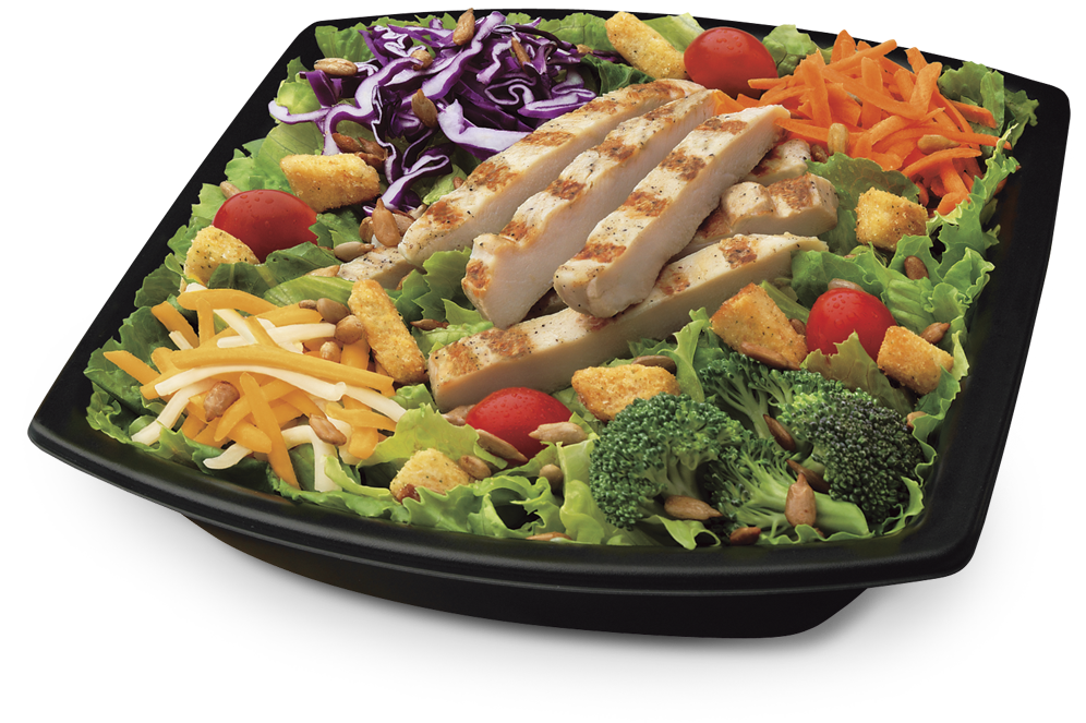 Fast Food Salads Really Healthy