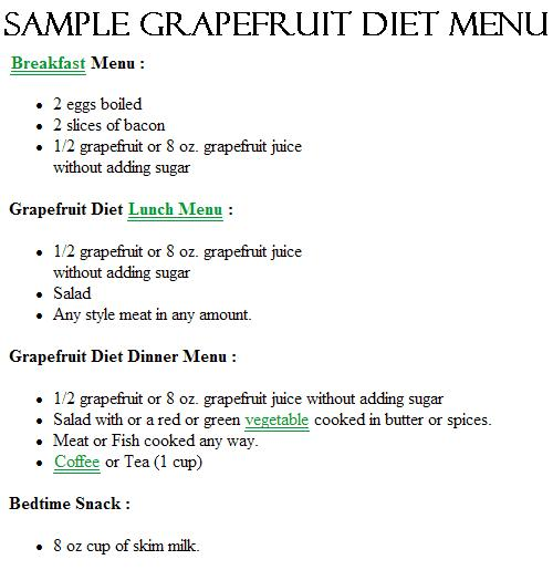 Did Your Mama Do The Grapefruit Diet Slimdown With Sandee