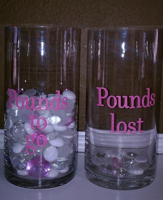 weight loss progress charts