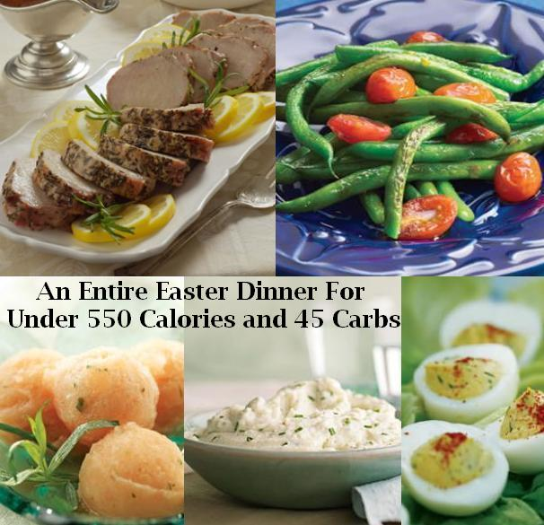 Easter Dinner Menu For Those On A Low Carb or Low Calorie Diet ...
