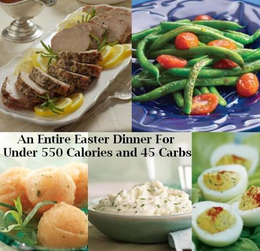 Low Fat Easter Dinner 25